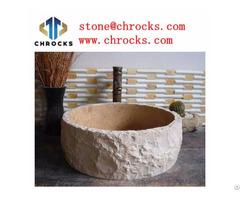 Natural Bath Sink Classic Cream Marble