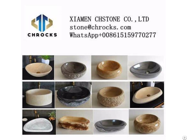 Natural Stone Bathroom Washing Basins