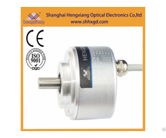 Hengxiang Absolute Encoder Gray Code Output Up To 12bit Solid Shaft 8mm