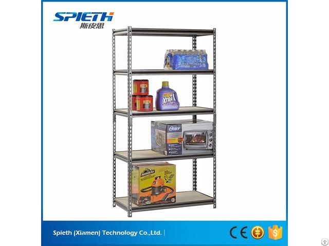Industrial Storage Garage Metal Boltless Shelving Unit Rack