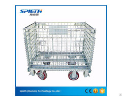 Heavy Duty Scale Collapsible Storage Wire Cages