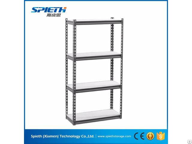 Industrial Storage Garage Library Used Metal Boltless Shelving Unit Rack