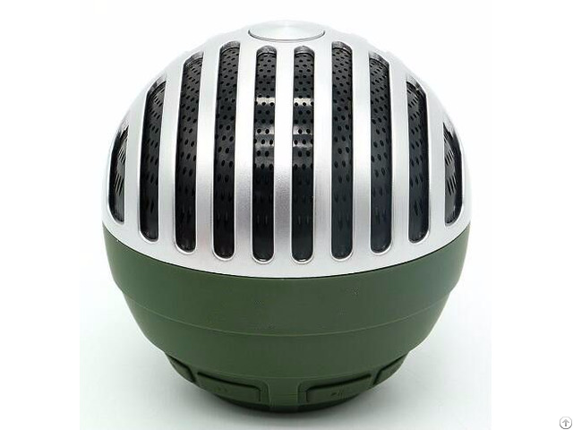 Oem Factory New Arrivals Round Shape Bluetooth Wireless Stereo Speaker