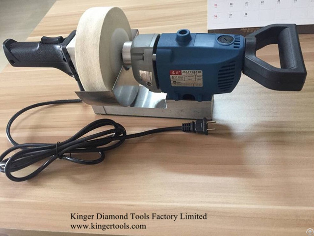 Kinger Top Quality Portable Polishing Machine For Glass