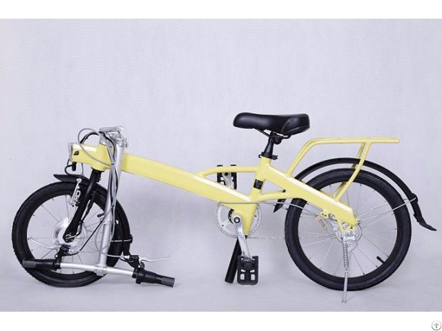 The Lightest Folding Electric Bicycle Ever