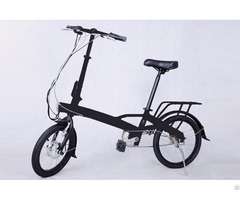 Customized Lithium Folding Electric Bicycle Oem Accepted
