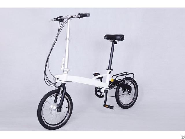 Environmental Friendly Lithium Folding E Bike Customized
