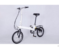Environmental Friendly Lithium Folding E Bike Customized