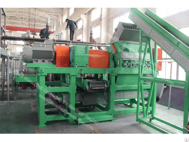 Hot Selling Rasper For Recycling Rubber Tire Tyre Metal Wood
