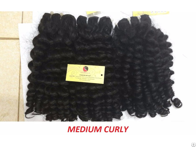 Vietnamese Hair Curly 16 Inch