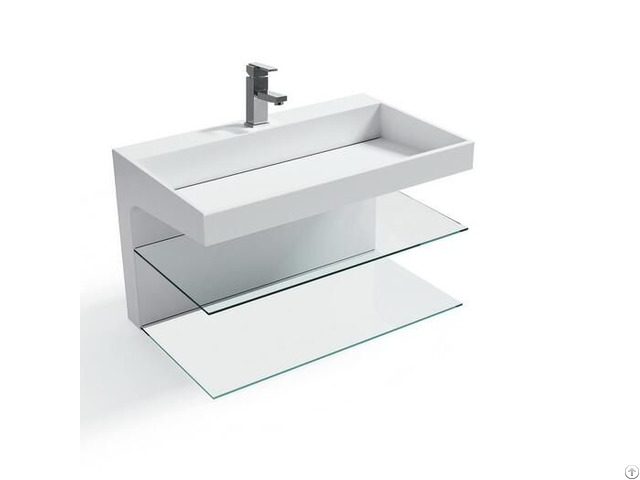 Bathroom Sink Art Style Basin