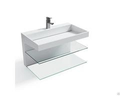 Bathroom Sink Art Style Basin