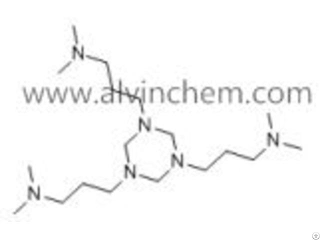 1,3,5-tris-(dimethylaminopropyl)-1,3,5-hexahydrotriazine (almin 41)