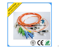 Fiber Optic Pigtail 2 0 3 0mm Flexible Sm Mm Om4 Om3 Sc