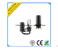 Mechanical Sealing 96 Fiber Optical Splice Closure Dome Type With 4 Ports