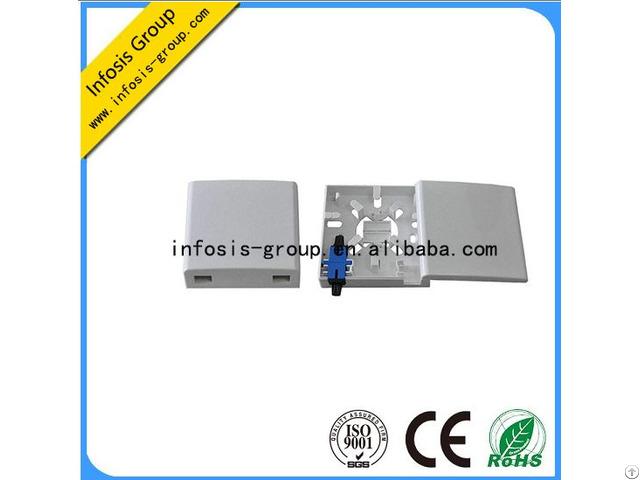 Port2 Fiber Mounting Optic Ftth Wall