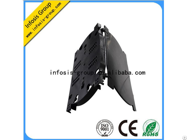 High Quality Ftth Fttx 24 Port Splice Tray Cable Joint Closure With Ce Iso Rosh Certificate