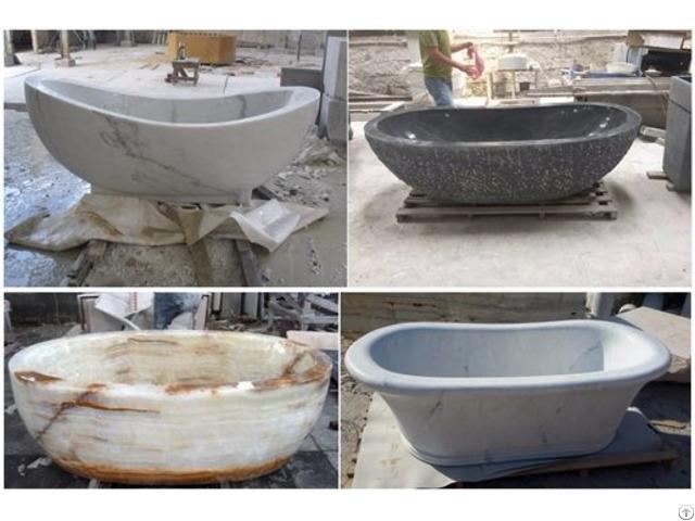 Natural Stone Bath Tub