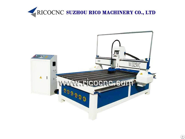 Slatwall Panels Carving Machine Cnc Router For Mdf Panel Cutting W1325vc