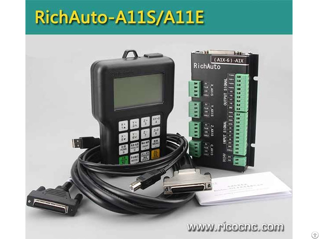Richauto A11 Cnc Handle Dsp Controller System For Three Axis Router Control