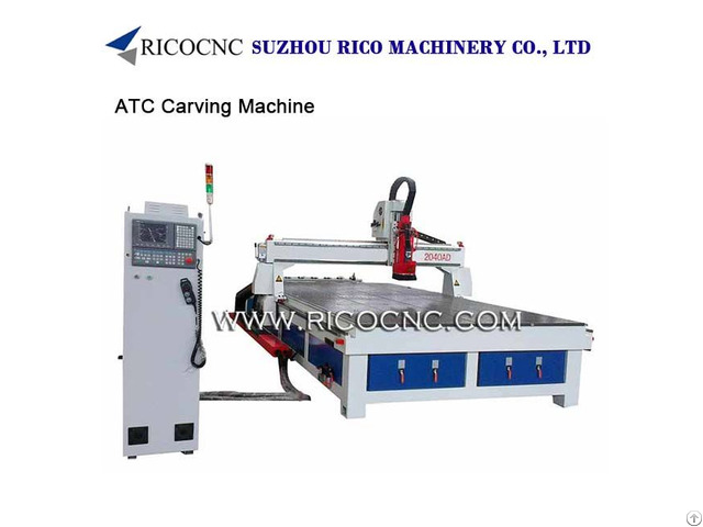 Atc Macine Tools Cnc Router Center For Woodworking Atc2040ad