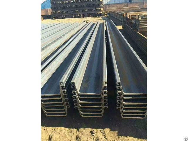 S235jr S355jr Steel Sheet Pile