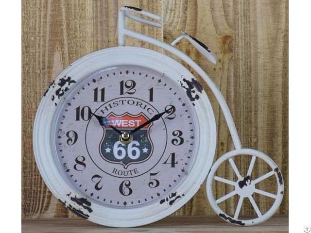 Metal Table Top Clocks