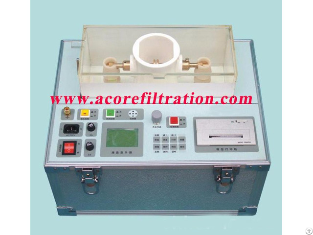 100kv Transformer Oil Breakdown Voltage Tester