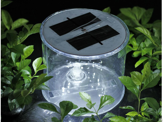 Inflatable Portable Solar Light