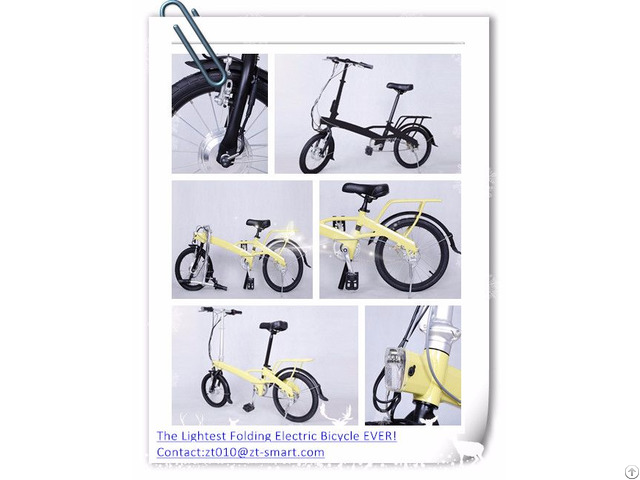Customized Folding Electric Bicycle Mini E Bike