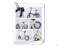 Customized Folding Electric Bicycle Mini E Bike