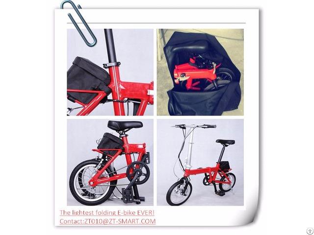 Customized Folding Electric Bicycle Foldable E Bike