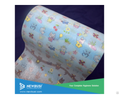 Customized Baby Diaper Magic Frontal Tape With Knitted Loop