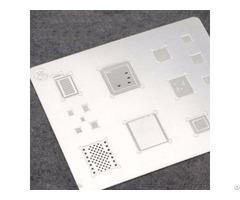 Mj 3d Bga Reballing Stencil Template For Phone A8 A9 A10 Groove Tin Steel
