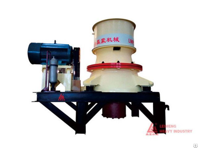 Lmp Series Single Cylinder Hydraulic Cone Crusher