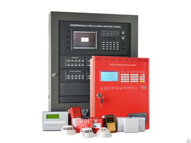 Aw Afp2189 Addressable Fire Alarm Control Panel