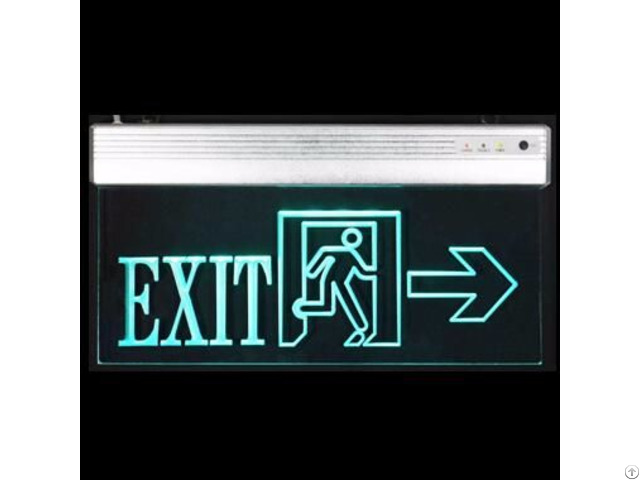 Suspended Led Acrylic Exit Signs