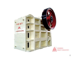 Pe Series Jaw Crusher Primary Crushing