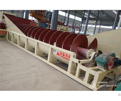 Screw Sand Washing Separator