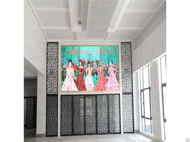 Shanghai Factory Promotional Hd Full Color P4 Led Flat Panel Display