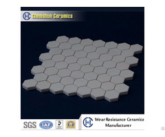China Manufacturer Supplied Hexagonal Tile Sheet As Wear Ceramic Liner