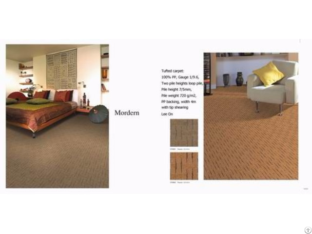 China Custom Tufted Carpet