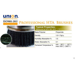 Union High Temperature Abrasive Hta Nylon Brushes