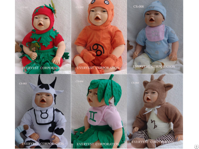 High Quality Reborn Baby Doll Clothes 6 Set For Sale