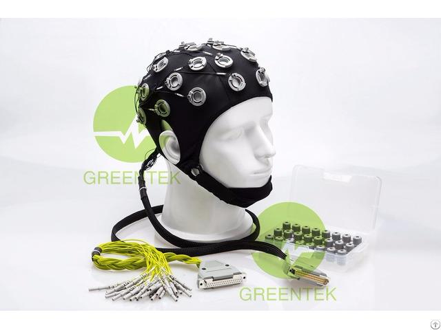 Semi Dry Gel Free Eeg Electrode Cap