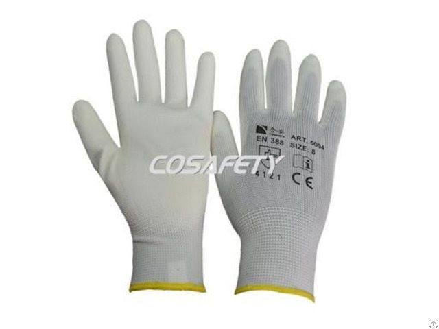Pu Coated Gloves 5004w