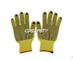 Aramid Fiber Gloves With Pvc Dots