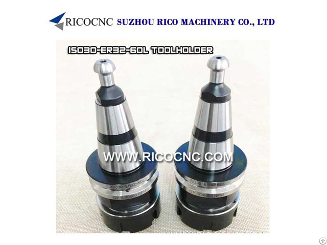 Iso30 Er32 60l Toolholder Collet Chuck With Hsd Pull Stud