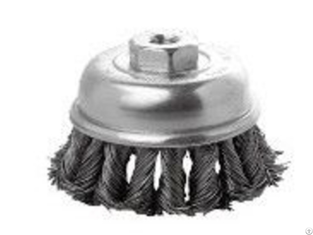 Twist Knot Brushes Are Designed For Heavy Duty Surface Cleaning