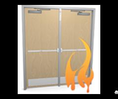 Ul Fire Proof Wooden Laminate Door